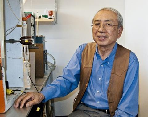 Taro Takahashi, who pioneered measurements of carbon dioxide at the surface of the world's oceans during a career of more than 60 years. (Photo: LDEO)