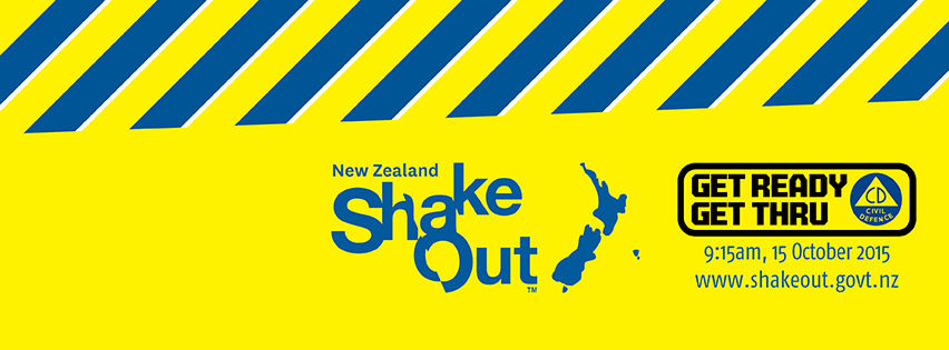 Is your school taking part in our national earthquake drill?