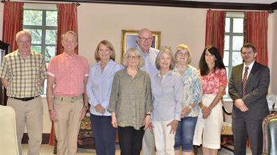 Group photo of the fiscal year 2021-2022 Board members