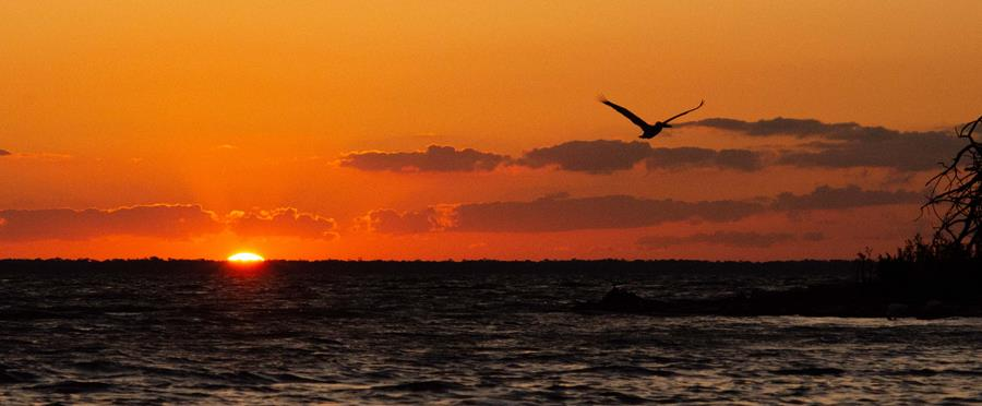 Sunset on the Indian River Lagoon | Photo by Paul Simonin