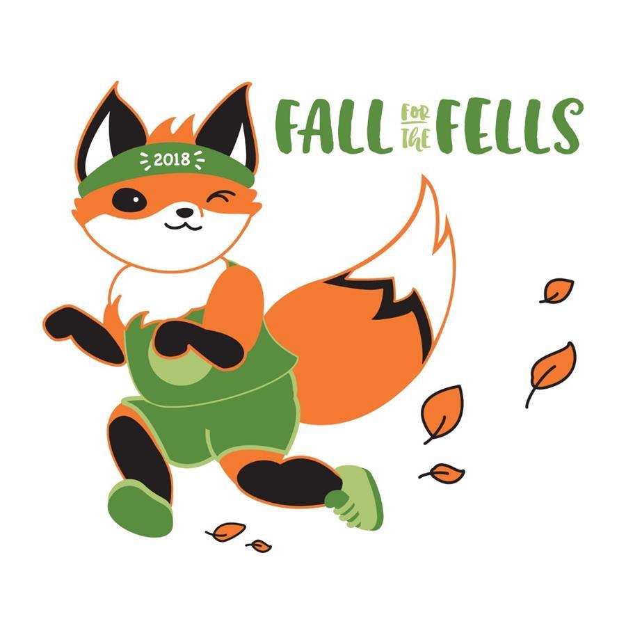 cartoon running fox