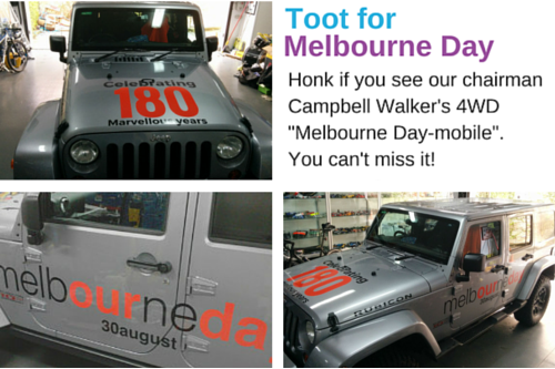 Toot for Melbourne Day