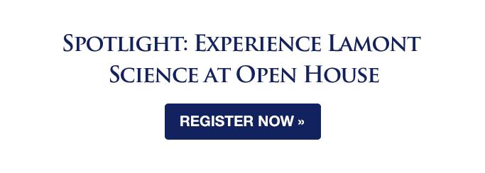 Register for Lamont-Doherty Open House