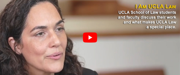 I am UCLA Law video featuring Jennifer Chacon