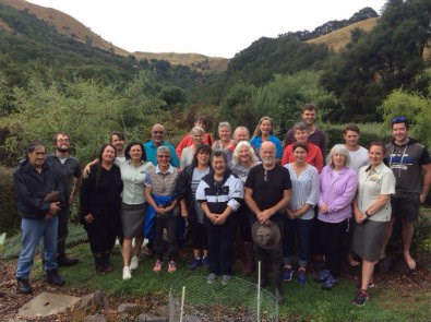 East Coast Hawkes Bay and Chatham Islands Conservation Board visit to Longbush