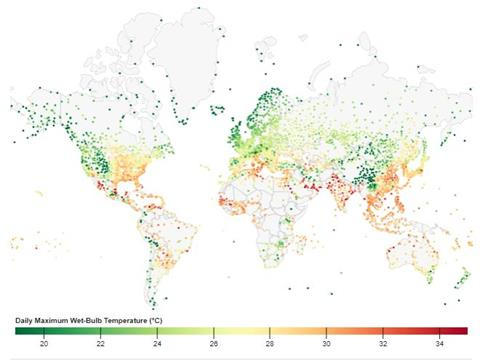 Potentially Fatal Combinations of Humidity and Heat Are Emerging Across the Globe