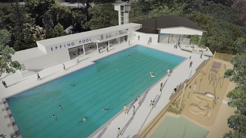 Epping Pool Draft Concept Plan