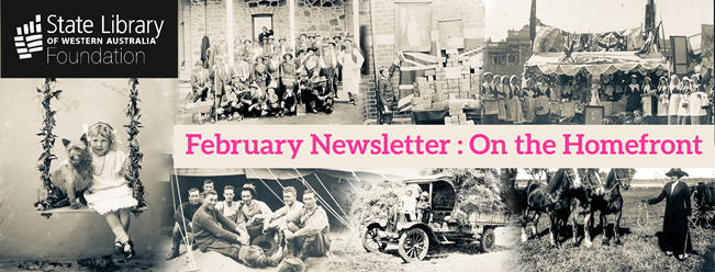 February On the Homefront image banner