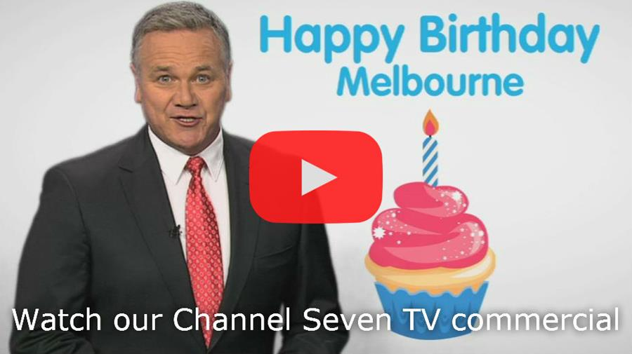 Watch on YouTube our Channel Seven TV commercial presented by Peter Mitchell