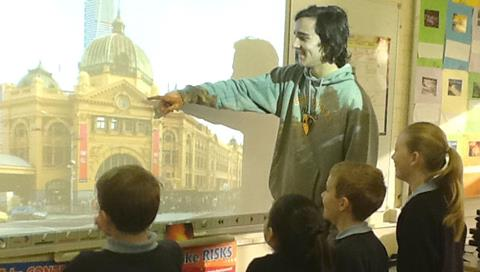Read more about students teaching students about Melbourne history