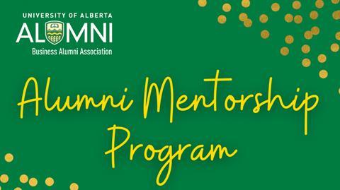 alumni mentorship program graphic