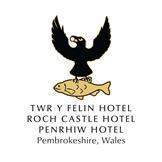 Twr y Felin Hotel, Roch Castle, Penrhiw Priory