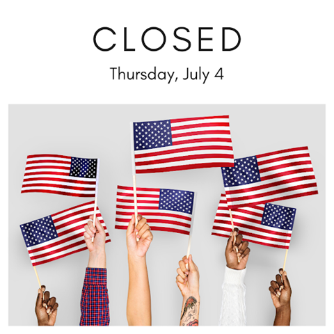 Closed on July 4