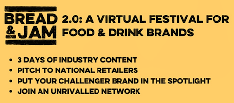 DRG exhibit at Bread & Jam 2.0, the virtual festival for food and drinks brands