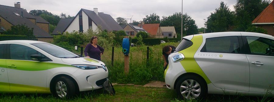 Eerste elektrische deelauto in Mariakerke!