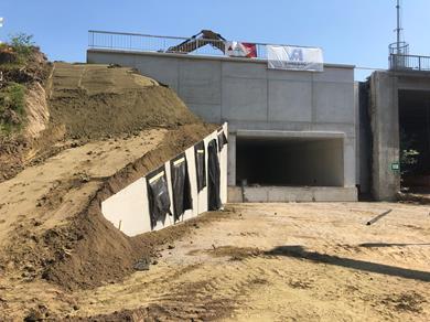 Fietstunnel onder Ring van Geel