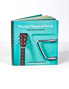 Musicians, Memories & Morsels available online! Makes a great Father's Day or Birthday Gift!