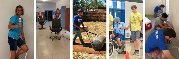 June 2019 Volunteer Collage