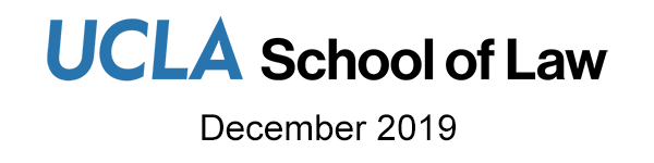 UCLA School of Law Newsletter