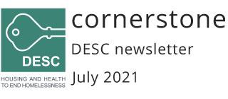 Cornerstone DESC newsletter July 2021
