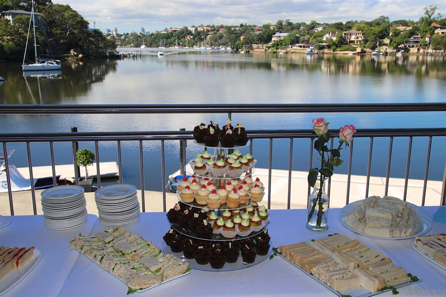 The Riverview morning tea
