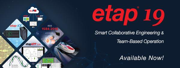 ETAP 19 Available Now