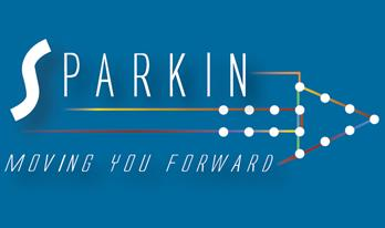 Sparkin --> Moving you forward -->