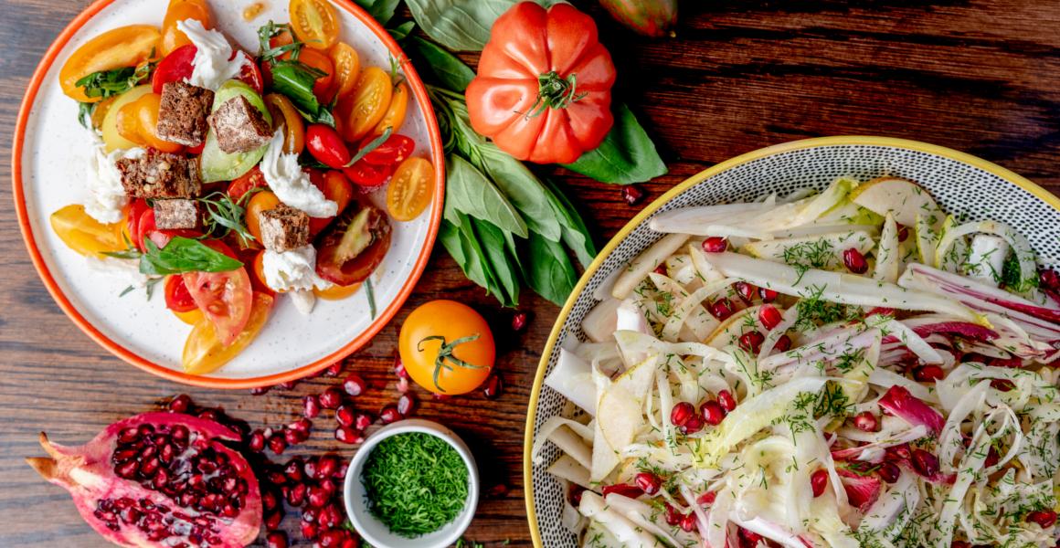 The Mount Street Deli Summer Salads