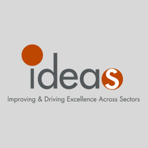IDEAS logo: Improving & Driving Excellence Across Sectors