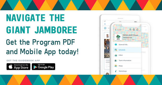 Navigate the Giant Jamboree - Get the Program PDF and Mobile App today!