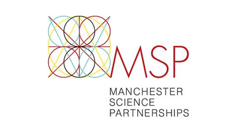 Manchester Science Partnerships logo