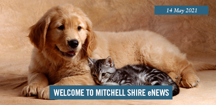 words: welcome to Mitchell Shire eNews, 14 May 2021