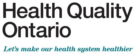Health Quality Ontario wordmark