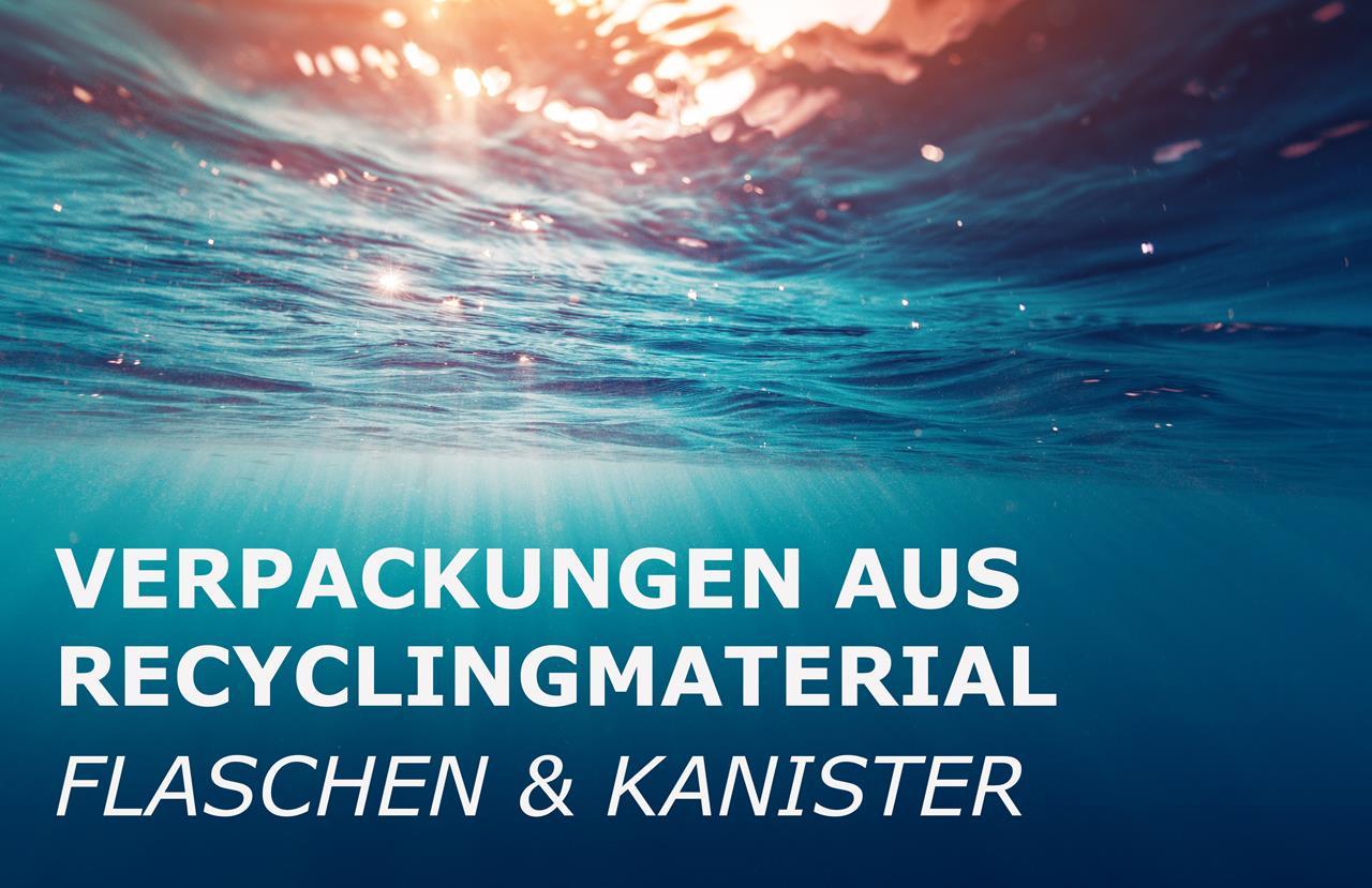 Recyclatflaschen