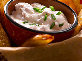 Picture of: Our Super Bowl Dip. Go Deep!