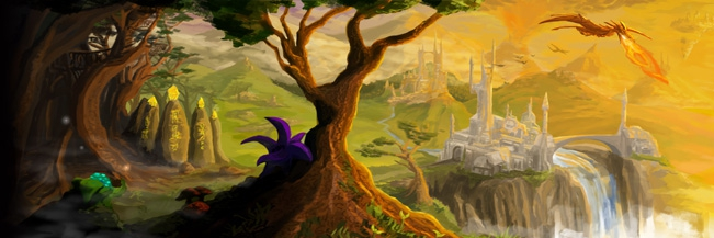 Fantasy Artwork (by Pete Borlace) from Gav's Website