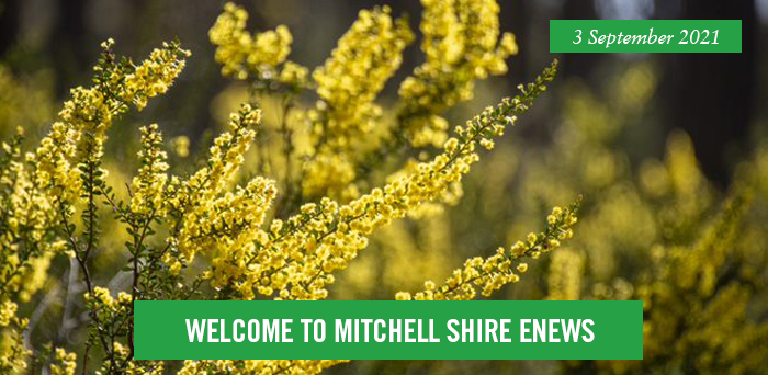 Welcome to Mitchell Shire eNews. 3 September 2021