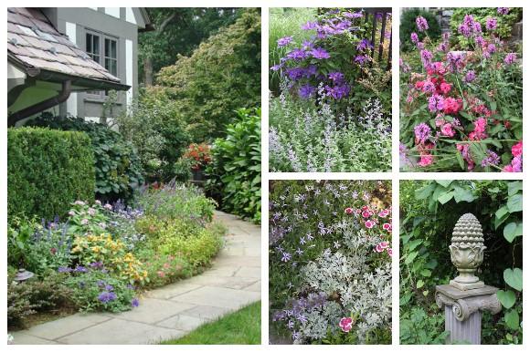 Cottage Garden Collage