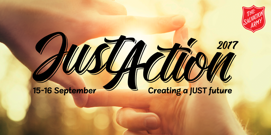 Just Action Conference 2017: Creating a JUST Future (15-16 September).