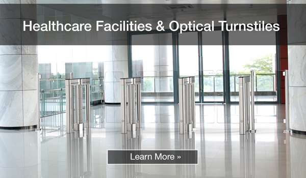 Healthcare Facilities and Optical Turnstiles