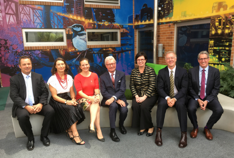 Governor General visits Mater