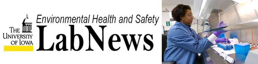 Environmental Health & Safety Lab News