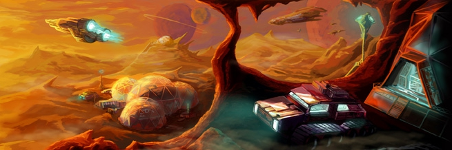 Sci Fi Artwork from Gav's Website