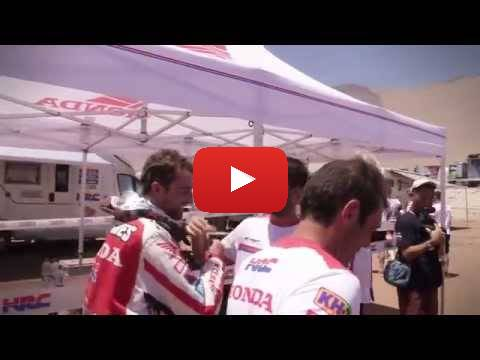 Team HRC Dakar Rally Stage 6 - Behind the Scenes