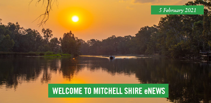 words: welcome to Mitchell Shire eNews, 5 February 2021