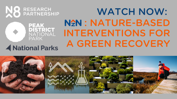 Webinar: Nature-based interventions for a green recovery