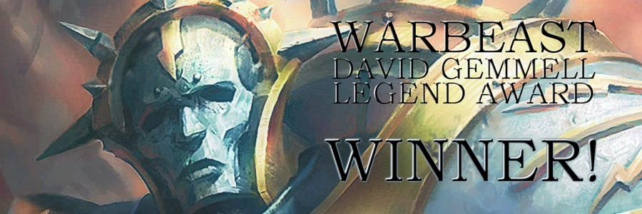 Warbeast won the David Gemmell Legend Award for Fantasy