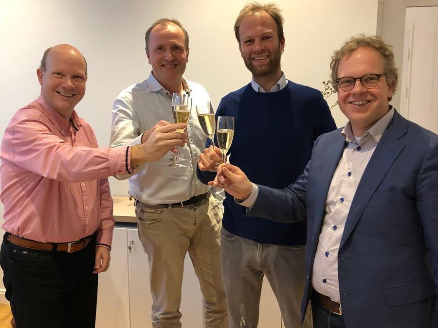 Closing investeerders Open HealthHub