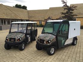 A Carryall 700 & Transporter 6 in Camouflage Colours