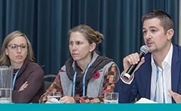 Des conférenciers du conférence 2016 sur l'amélioration de la qualité des soins chirurgicaux en Ontario